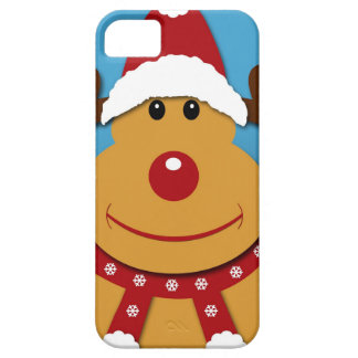 Cartoon Rudolph The Reindeer Christmas Gifts iPhone 5 Cases