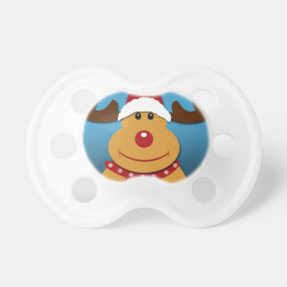 Cartoon Rudolph The Reindeer Christmas Gifts Pacifier