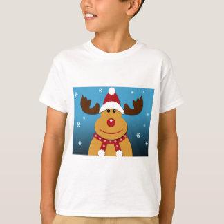 Cartoon Rudolph The Reindeer Christmas Gifts T-Shirt