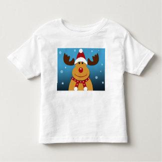 Cartoon Rudolph The Reindeer Christmas T-Shirt