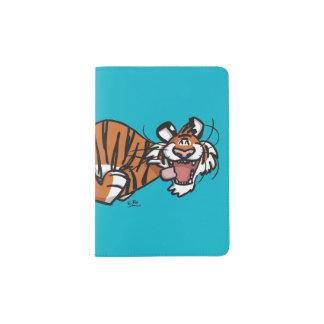 Cartoon Running Tiger Passport Holder