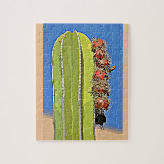Cartoon Saguaro Cactus Puzzle