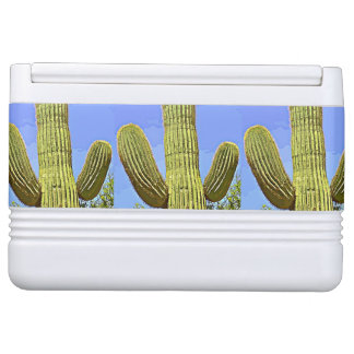 Cartoon Saguaro Igloo Can Cooler