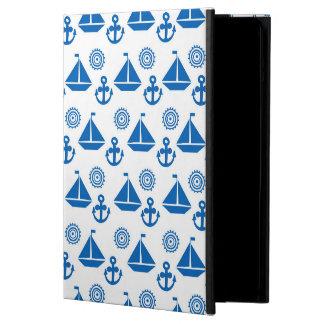 Cartoon Sail Boat Pattern iPad Air Covers