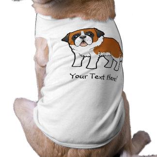 Cartoon Saint Bernard Pet Clothes