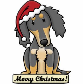 Cartoon Saluki Christmas Ornament Photo Sculpture Ornament