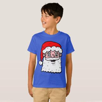 Cartoon Santa Head T-Shirt