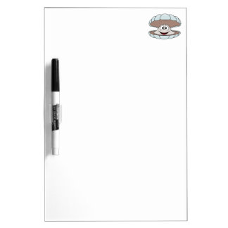 Cartoon Scallop Shellfish Clam Dry-Erase Whiteboards