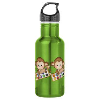 Cartoon School Monkey 532 Ml Water Bottle