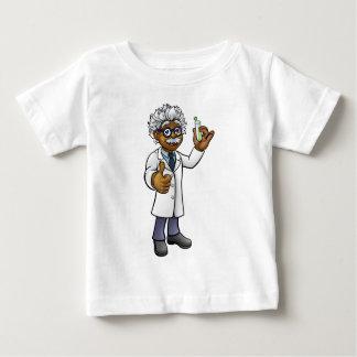 Cartoon Scientist Holding Test Tube Baby T-Shirt
