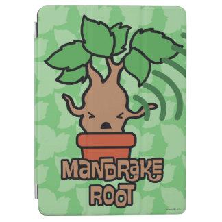 Cartoon Screaming Mandrake Character Art iPad Air Cover