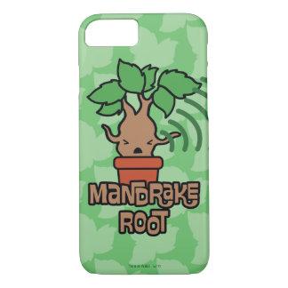 Cartoon Screaming Mandrake Character Art iPhone 8/7 Case