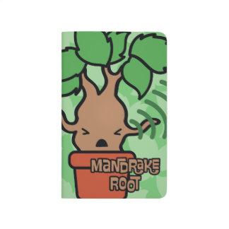 Cartoon Screaming Mandrake Character Art Journal