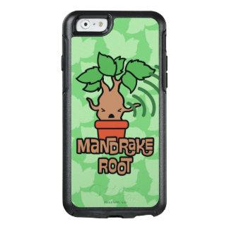 Cartoon Screaming Mandrake Character Art OtterBox iPhone 6/6s Case