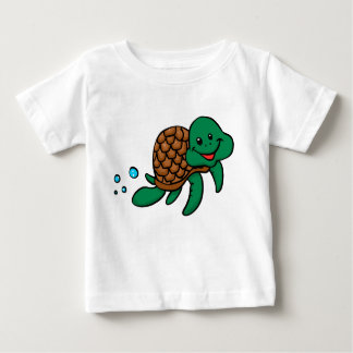 Cartoon sea turtle baby T-Shirt