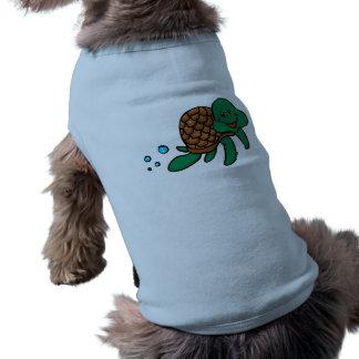 Cartoon sea turtle shirt