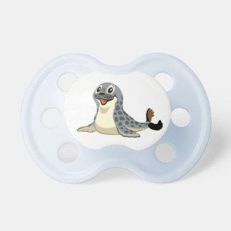 cartoon seal pacifier