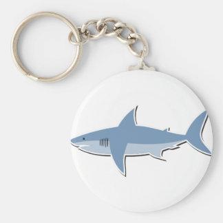 Cartoon Shark Keychain