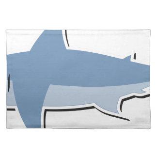 Cartoon Shark Placemat