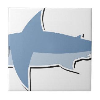 Cartoon Shark Tile