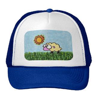 Cartoon Sheep Trucker Hat
