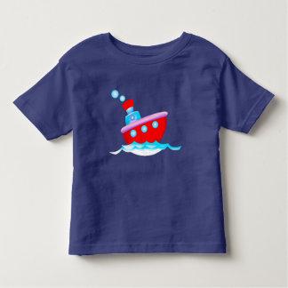 Cartoon ship toddler t-shirt