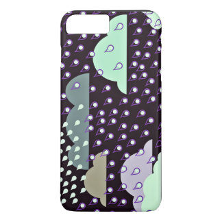 Cartoon Showing Rain And Clouds iPhone 7 Plus Case