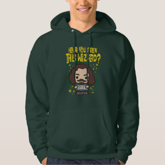 Cartoon Sirius Black Wanted Poster Graphic Hoodie