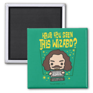 Cartoon Sirius Black Wanted Poster Graphic Magnet