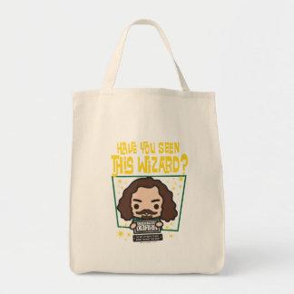 Cartoon Sirius Black Wanted Poster Graphic Tote Bag