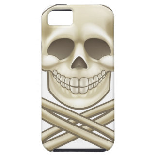 Cartoon Skull and Crossbones Pirate Thumbs Up iPhone 5 Case