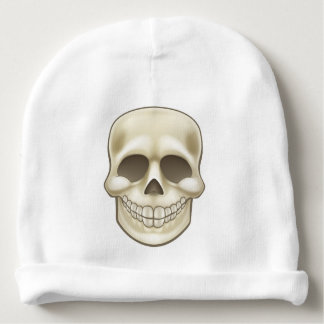 Cartoon Skull Baby Beanie