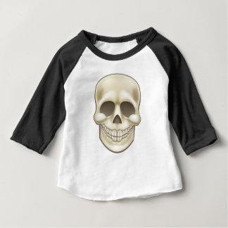 Cartoon Skull Baby T-Shirt