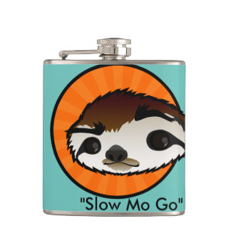 CARTOON SLOTH FLASK