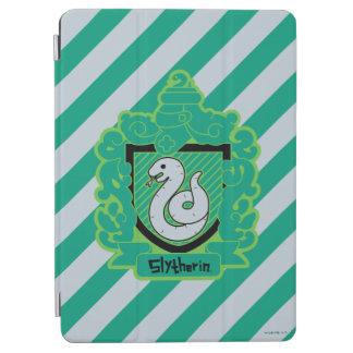Cartoon Slytherin Crest iPad Air Cover