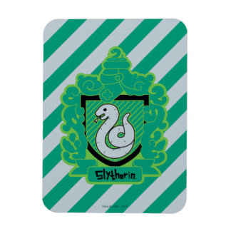 Cartoon Slytherin Crest Magnet