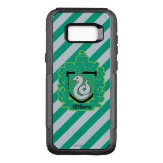 Cartoon Slytherin Crest OtterBox Commuter Samsung Galaxy S8+ Case