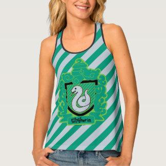 Cartoon Slytherin Crest Tank Top