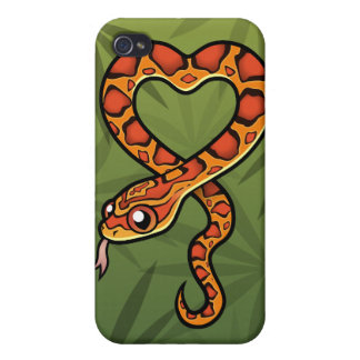 Cartoon Snake iPhone 4/4S Covers