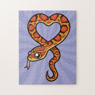 Cartoon Snake Puzzle