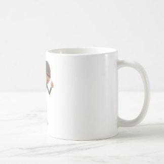 Cartoon Soldier Running Coffee Mug
