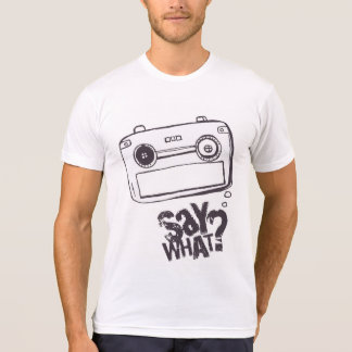 Cartoon speech bubble t-shirt WHITE