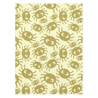 Cartoon spiders pattern tablecloth