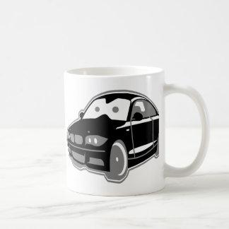 Cartoon-Sportcoupe Basic White Mug