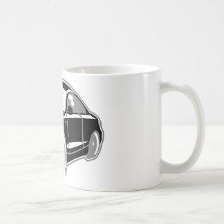 Cartoon-Sportcoupe Classic White Coffee Mug