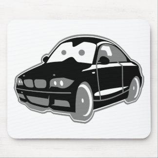 Cartoon-Sportcoupe Mouse Pad