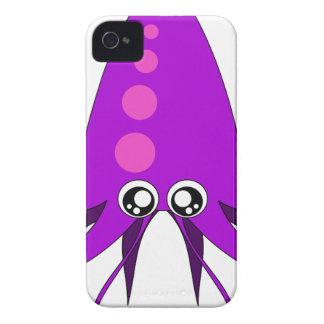 Cartoon Squid Case-Mate iPhone 4 Case