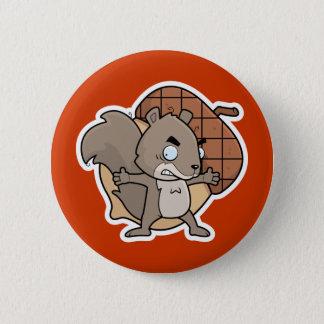 Cartoon Squirrel Button