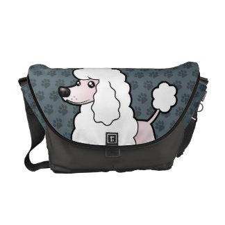 Cartoon Standard/Miniature/Toy Poodle (show cut) Commuter Bag