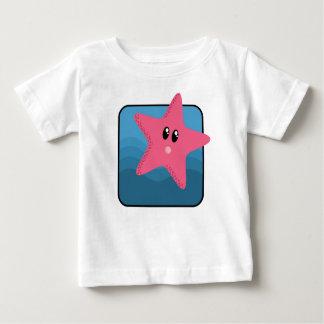 Cartoon Starfish Baby T-Shirt
